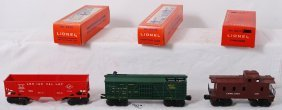 Lionel 3370, 6476, And 6017 Freight In OB