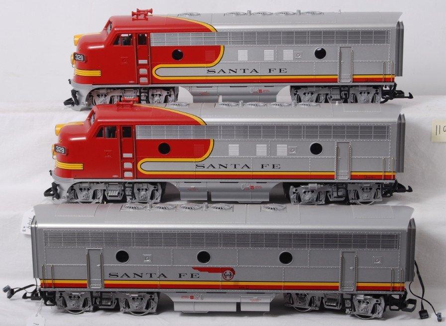 1194: LGB 20570, 20582, 20570 Santa Fe A-B-A in OB