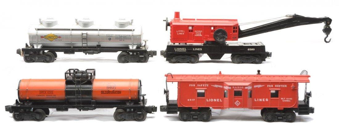 4: Lionel Postwar Freights 6315 6415 6560 6517