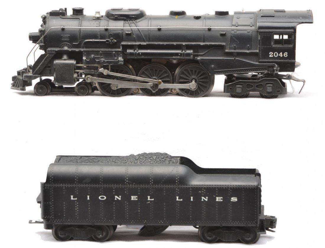 9: Lionel 2046 Black Steam Loco 2046W Tender
