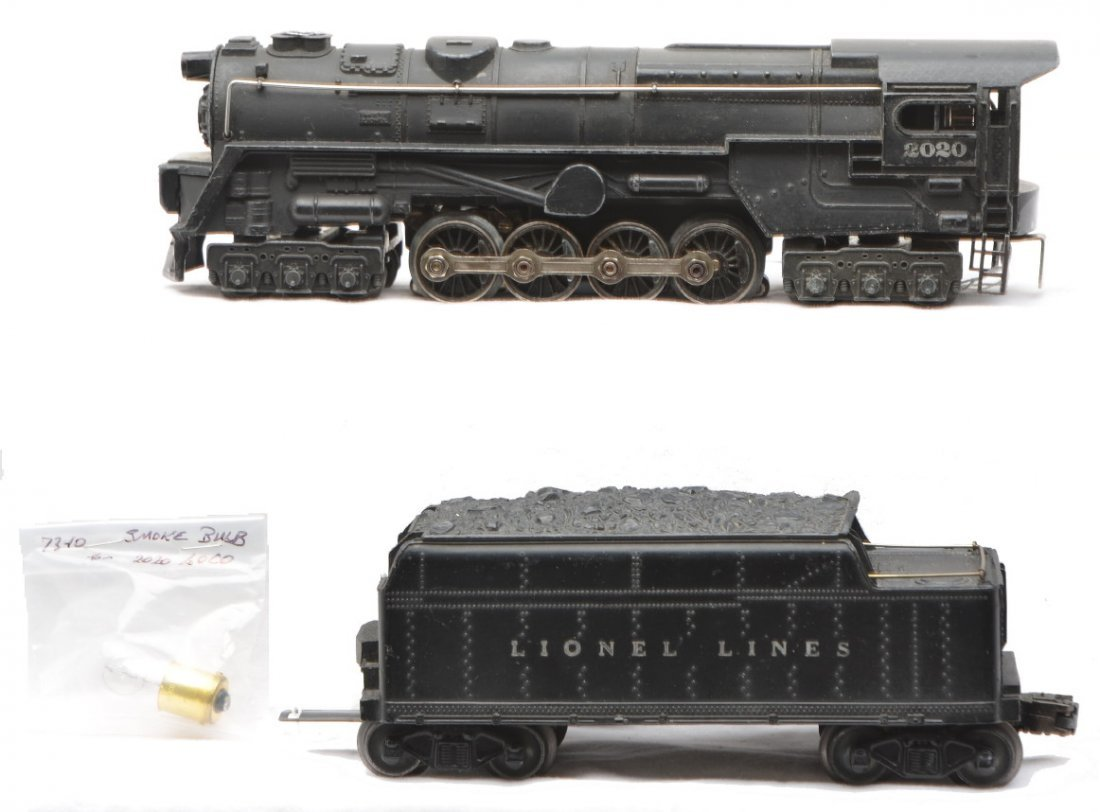 12: Lionel 2020 Steam Turbine Loco 2466W Tender
