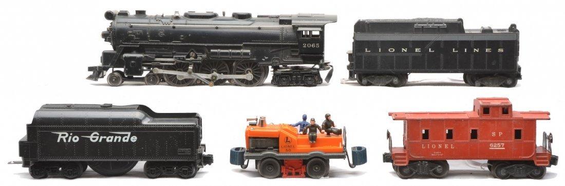 14: Lionel 2065 Loco 6026W Tender 50 6257 RG Tender