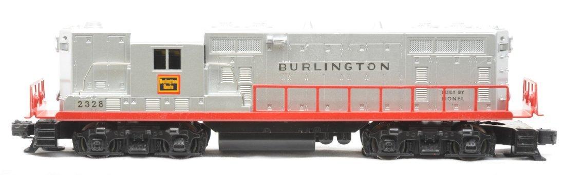 16: Lionel Postwar 2328 Burlington GP7 Diesel