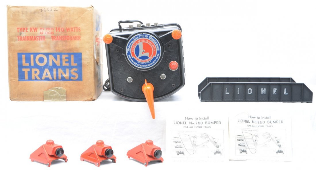 18: Lionel Accessories 3-260 Type KW Boxed 214