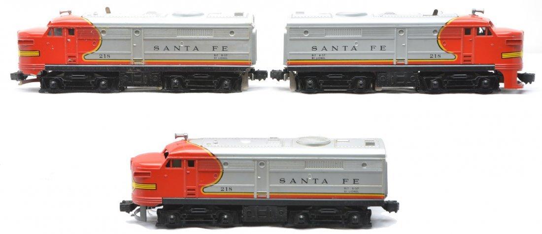 20: Lionel 218 Santa Fe Alco AA 218 SF Power A Units