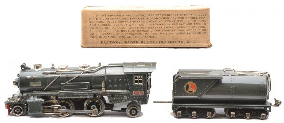 24: Lionel 260E Gunmetal Loco 263WX Tender