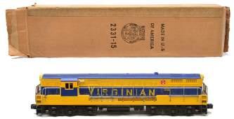 71: Lionel 2331 Virginian FM Train Master Diesel OB