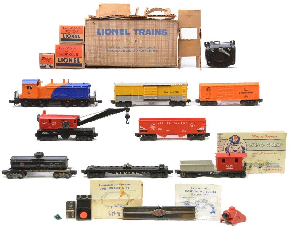 88: Lionel Switcher Freight Set no. 1581 Boxed