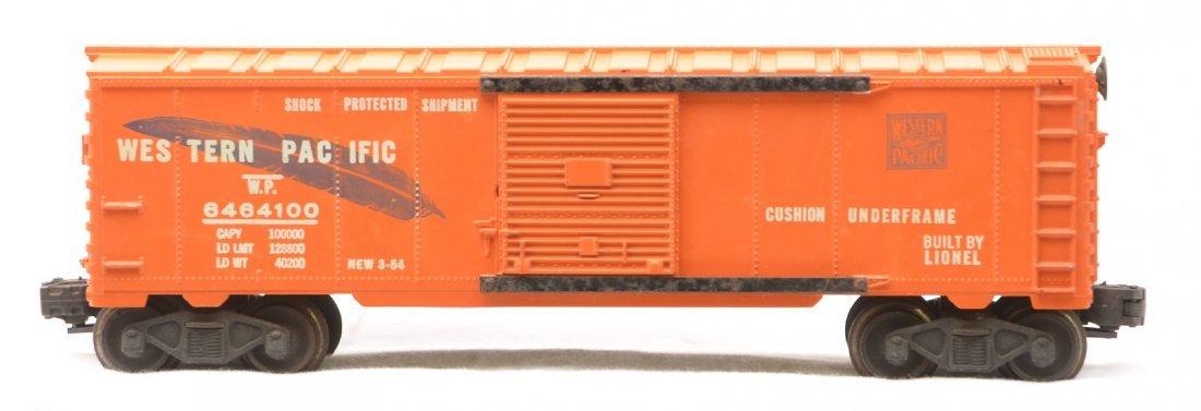346: Lionel 6464-100 Orange WP Type IIa Boxcar - 2