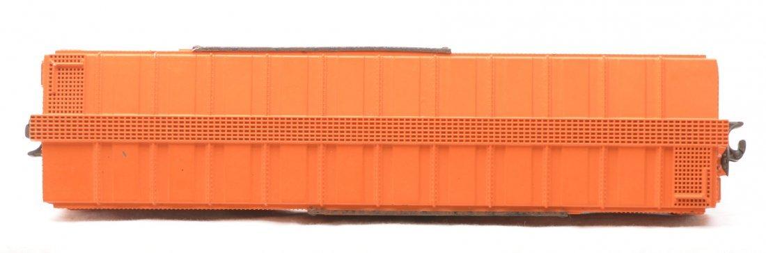 346: Lionel 6464-100 Orange WP Type IIa Boxcar - 3