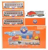 421: Lionel 21974 Santa Fe Passenger Set LN OB