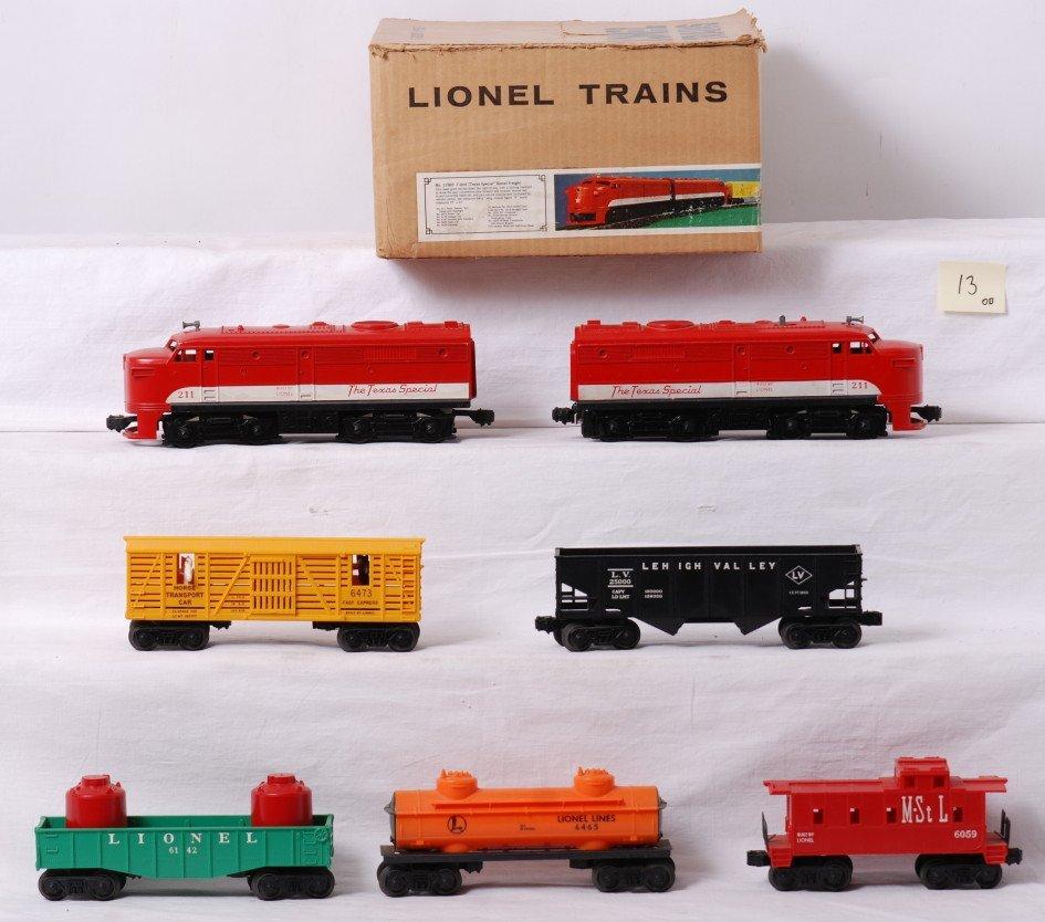 13: Unrun Lionel 11560 boxed 211 Texas Special set