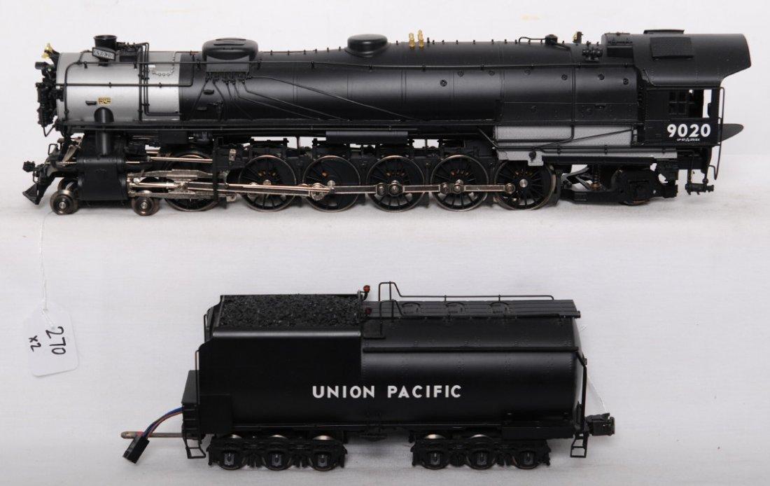270: 3rd Rail Union Pacific 4-12-2 steam locomotive