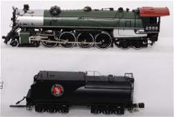 272: Sunset brass Great Northern S-2 4-8-4 with sound