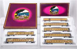 594: MTH 6506 6510 Union Pacific Pass Cars