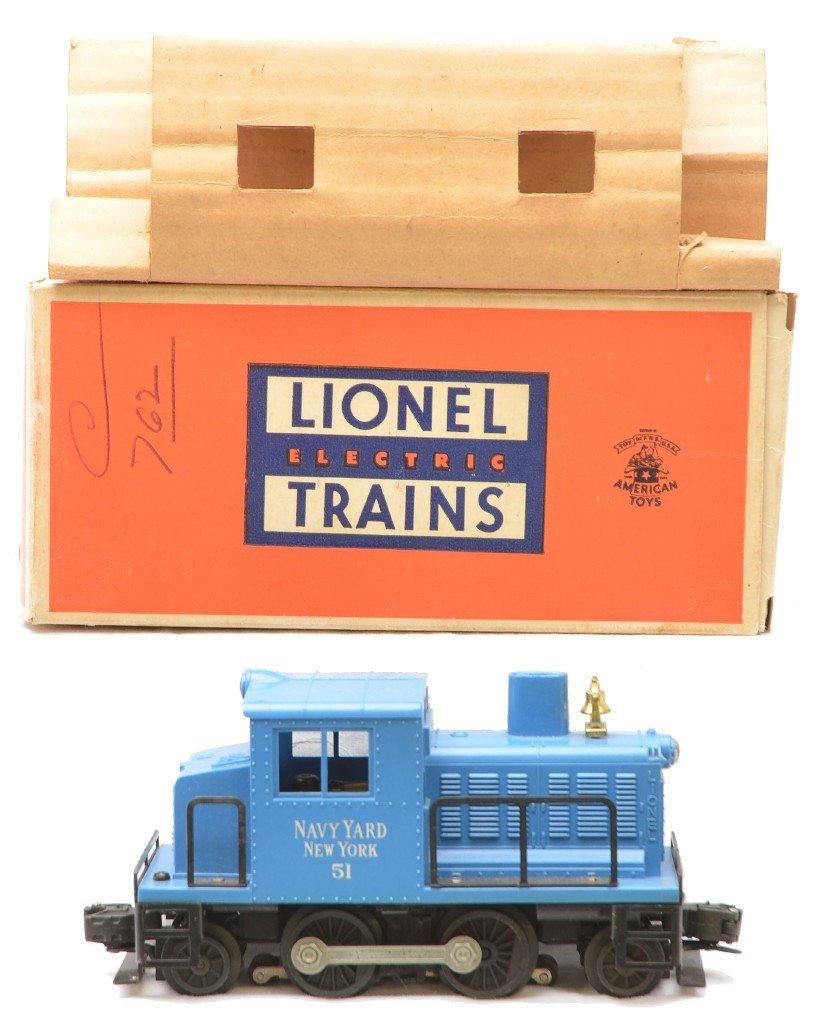 3: Lionel 51 Navy Yard New York Switcher Boxed