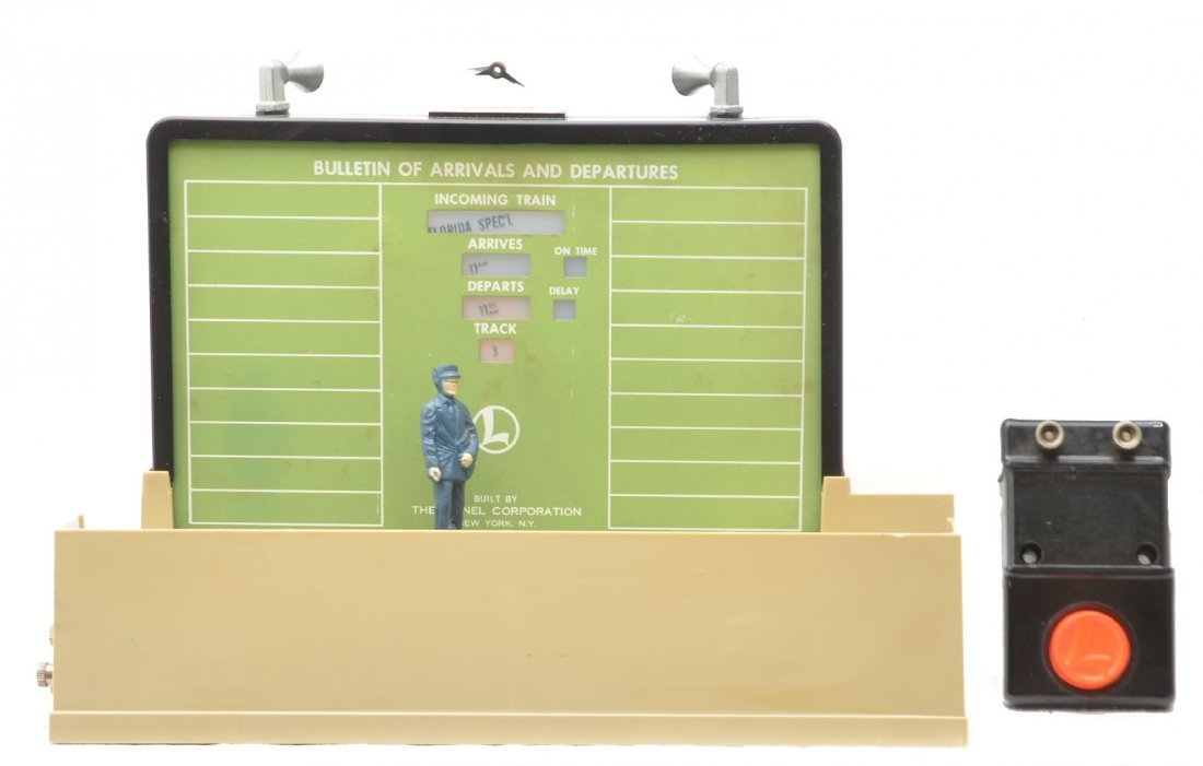 4: Lionel 334 Operating Dispatching Board