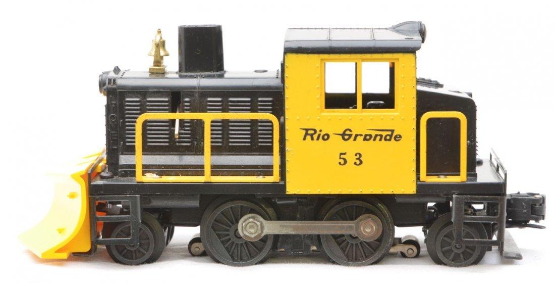 7: Lionel 53 Rio Grande Snow Plow LIKE NEW