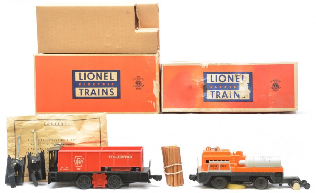9: Lionel 55 Tie-Jector 3927 Track Cleaning Car