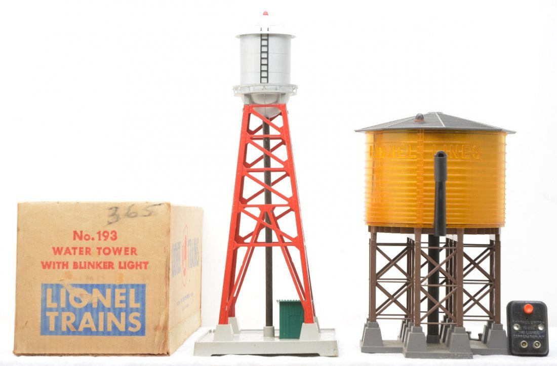 10: Lionel 193 Water Tower OB 30 Water Tower