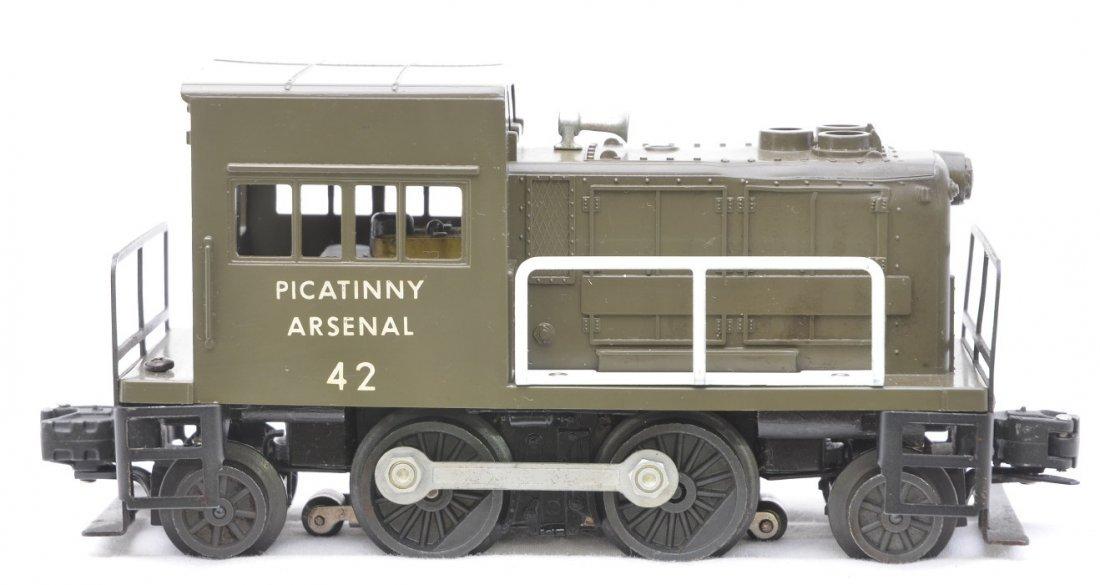 13: Lionel Postwar 42 Picatinny Arsenal Switcher