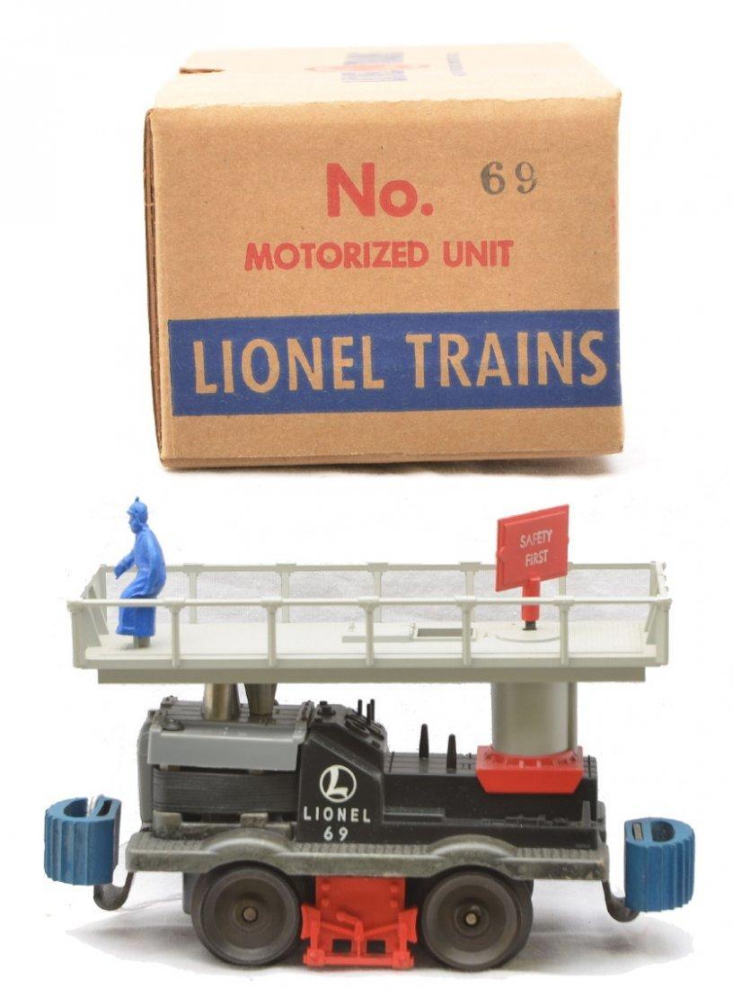 15: Lionel Postwar 69 Motorized Maintenance Car