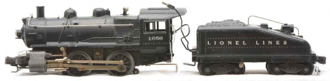 20: Lionel 1656 Steam Loco 6403B Slope-Back Tender