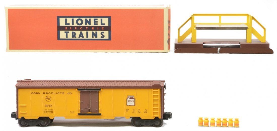 22: Lionel 3672 Corn Products Co. Bosco Milk Car