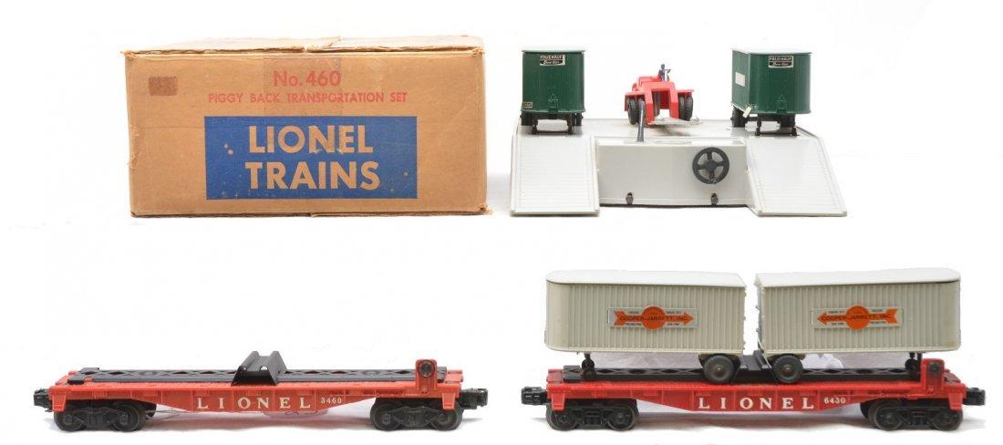 23: Lionel 460 PiggyBack Transportation Set 6430 Flat