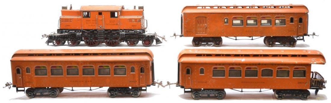 303: Ives Orange Pass Set no. 704 3243 187 188 189
