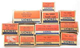 325: Lionel Selection of Original Boxes ONLY
