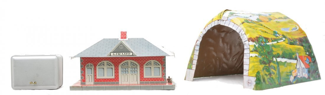 381: Marx Litho Girard Passenger Station & Tunnel