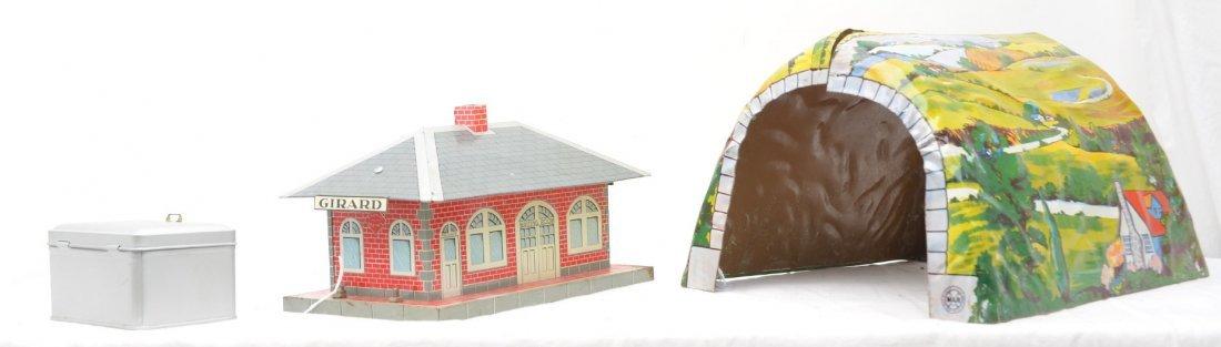 381: Marx Litho Girard Passenger Station & Tunnel - 3
