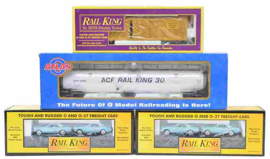 698: RK MTH two 30-7617 MT-7104 Atlas Tank OBs