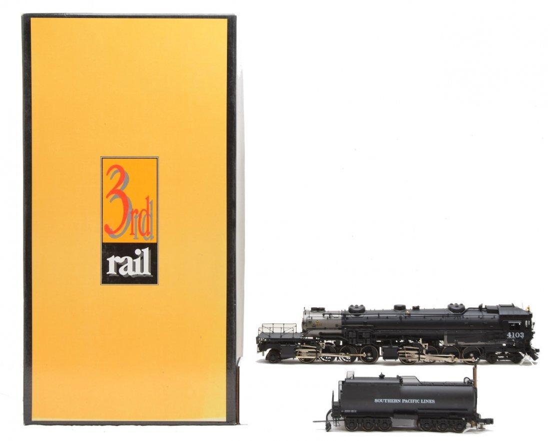 700: Sunset Models 3rd Rail SP Loco & Tender OB