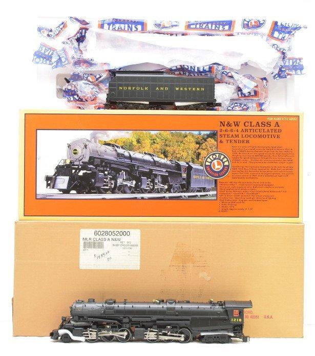 727: Lionel 28052 N&W Class A Articulated Loco