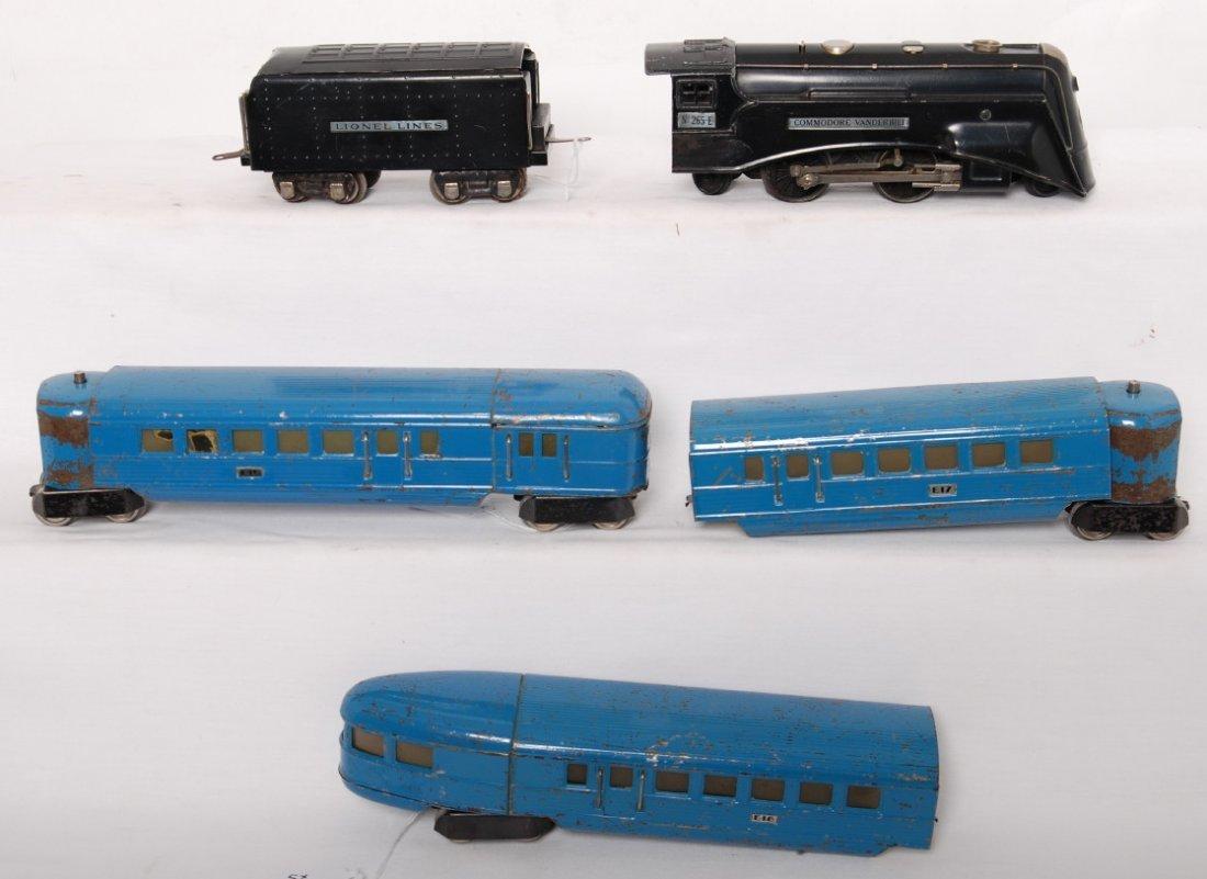 807: Lionel 6510E: 265E, 265T, 617, 618, 619 M. Blue - 2