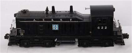 1276: Lionel 622 A.T.S.F. Santa Fe NW-2 w/622 on nose