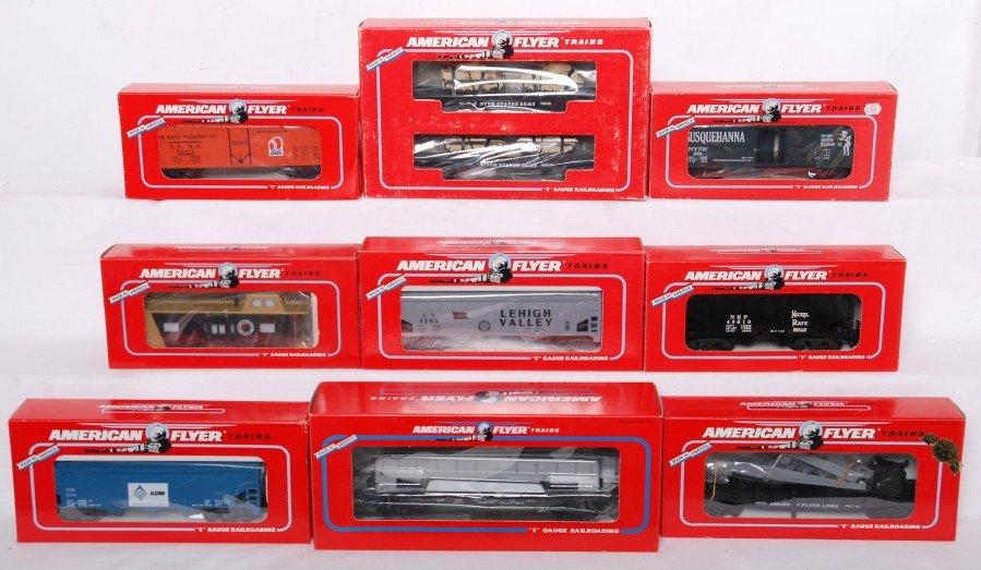 7: 10 American Flyer cars 48507, 48612, 48610
