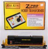 710 Lionel 8857 Northern Pacific U36B and MTH Z750 tra