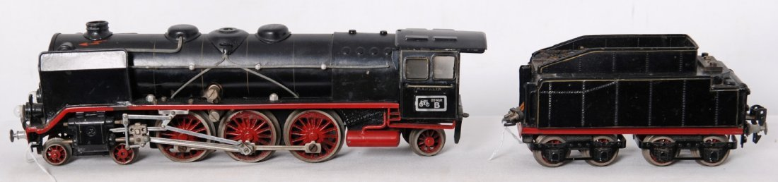 916: Marklin 20 Volt B HR 70/12920 steam locomotive and
