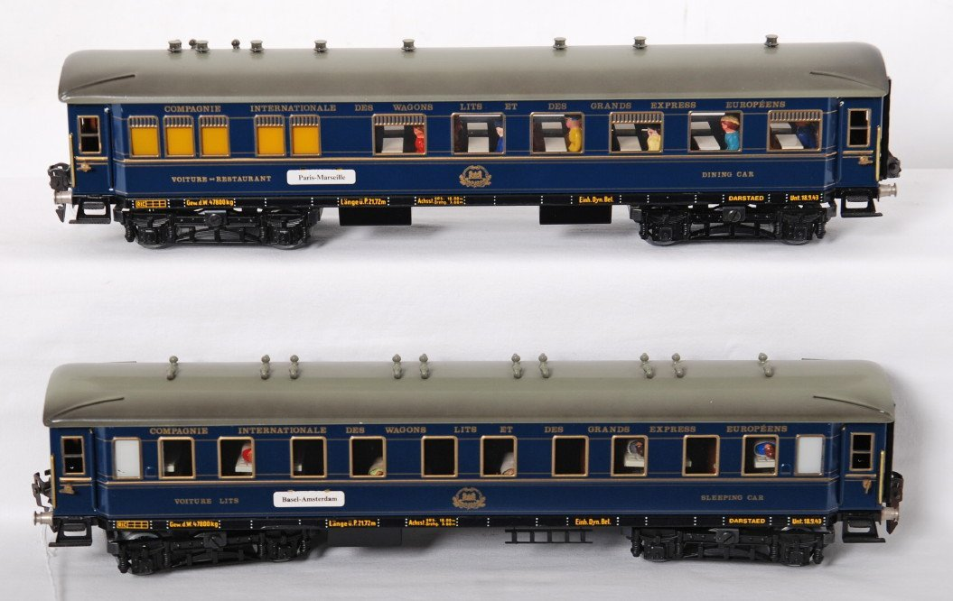 988: 2 Darstead Compagnie Internationale sleeper and di