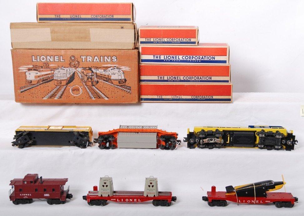 1126: Lionel 2505W Virginian rectifier freight set in O - 3