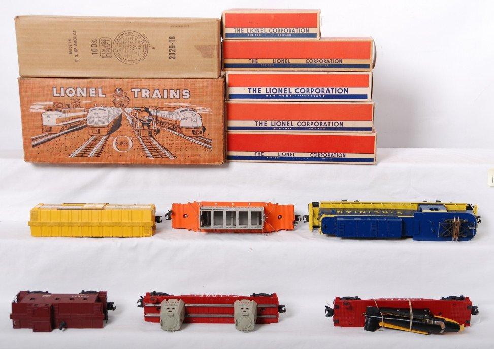 1126: Lionel 2505W Virginian rectifier freight set in O - 4