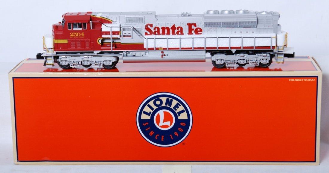 1: Lionel 52347 LOTS Santa Fe SD-80