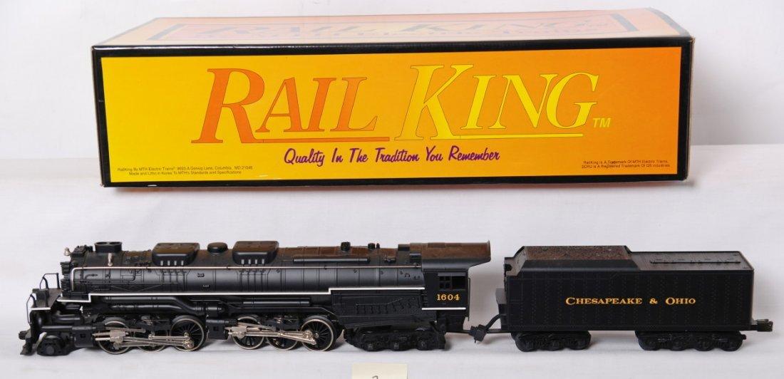 2: MTH RailKing No. 20-1117LP C&O Allegheny 2-6-6-6