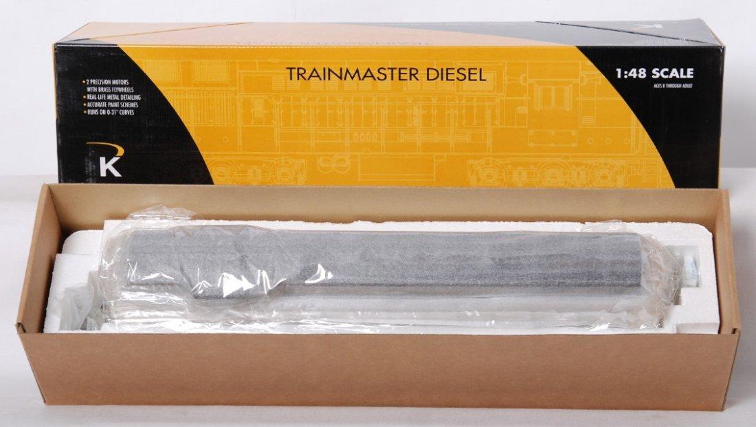 7: K Line Lackawanna FM Trainmaster K2438-0856CV