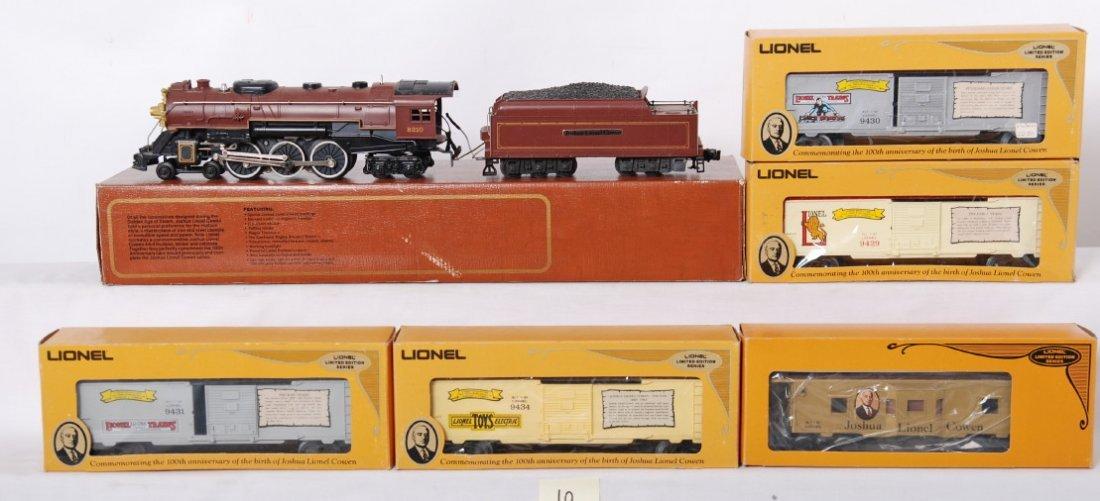 10: Lionel 8210 JLC Hudson and cars