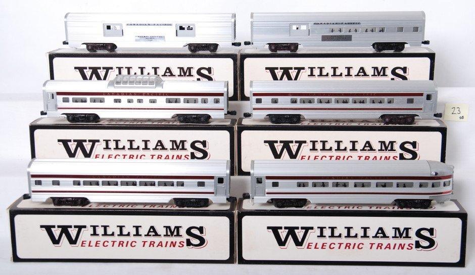 23: Williams Canadian Pacific 6 car aluminum set