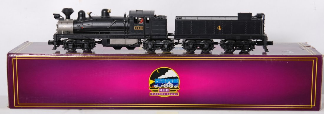 203: MTH Premier C&O Shay with Proto 2
